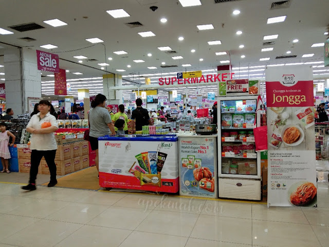 Aeon Korean Food Fair di Aeon Kepong