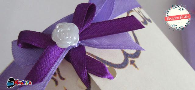 Fiocco romantico per lanterna rapunzel