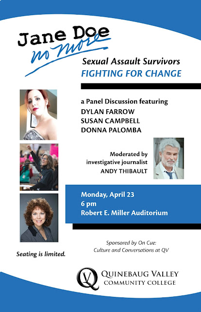 #JaneDoeNoMore: @QVCC to Host Discussion on Sexual Assault with Strong Survivors Fighting for Change #MeToo #TimesUp