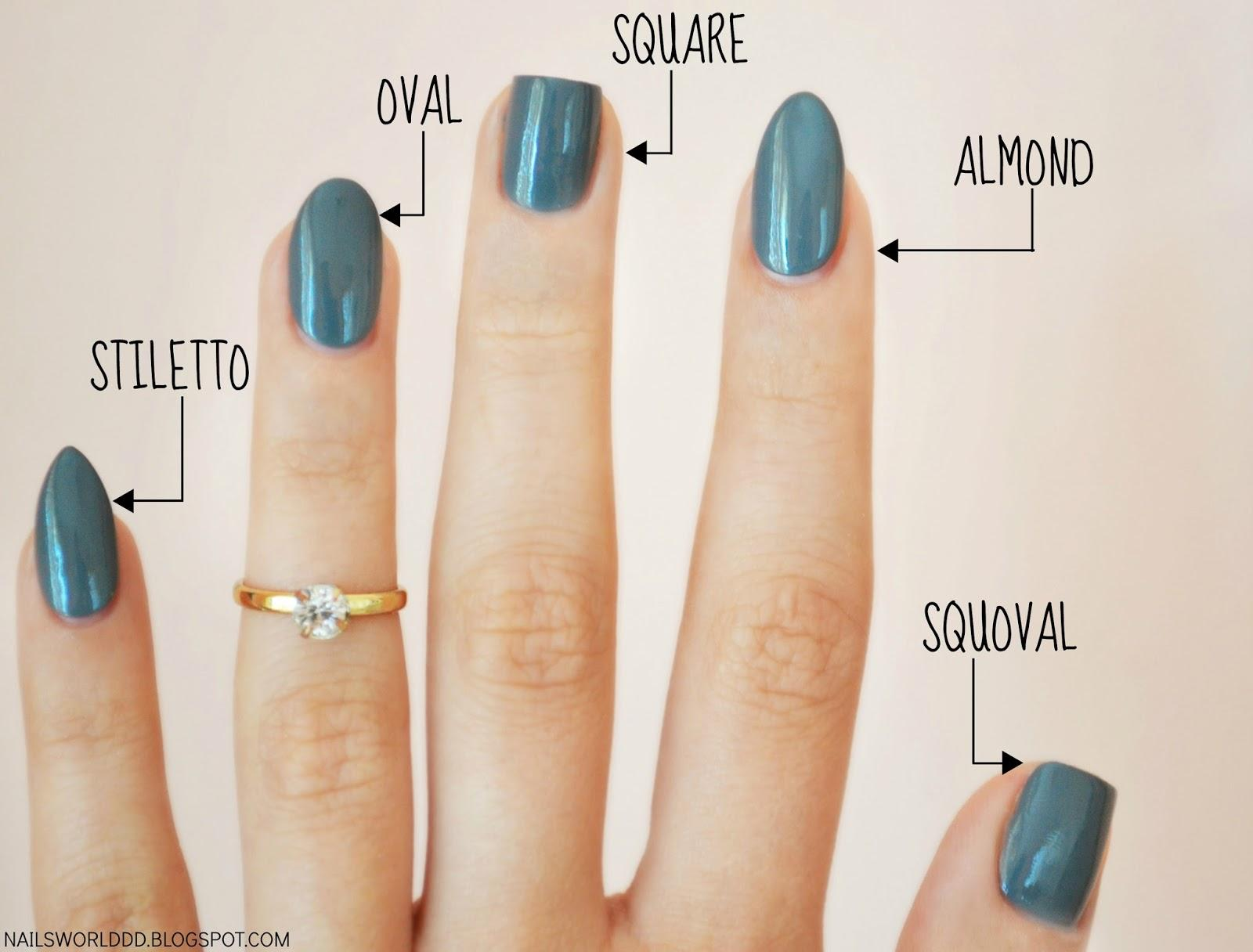 How Can You Talk About Nail Trends Before Start Talking Their Shape The Of Is Basis For Overall Appearance Hands