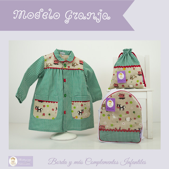 mochila baby guarderia cole animalitos verde