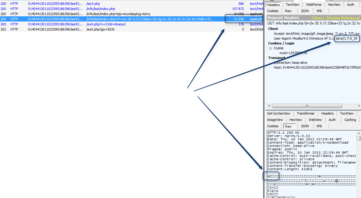 0 day 1 7u10 cve 2013 0422 spotted in the wild disable java