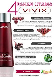 4 bahan utama vivix