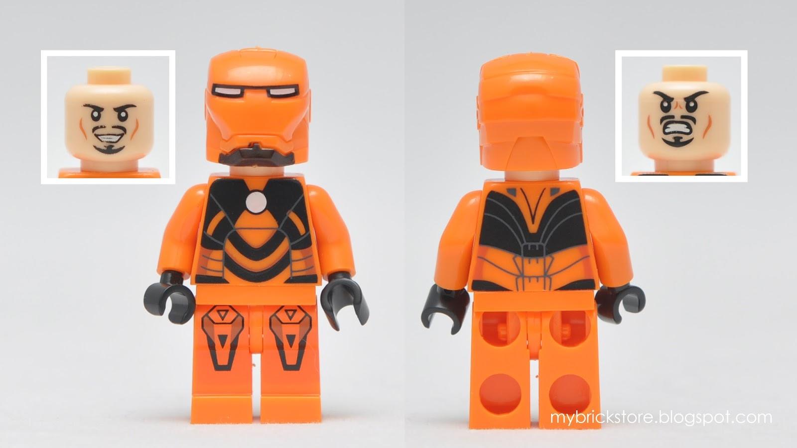 Iron Man Lego Figures 57