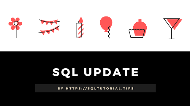 SQL UPDATE Syntax and example by SQL Tutorial Tips