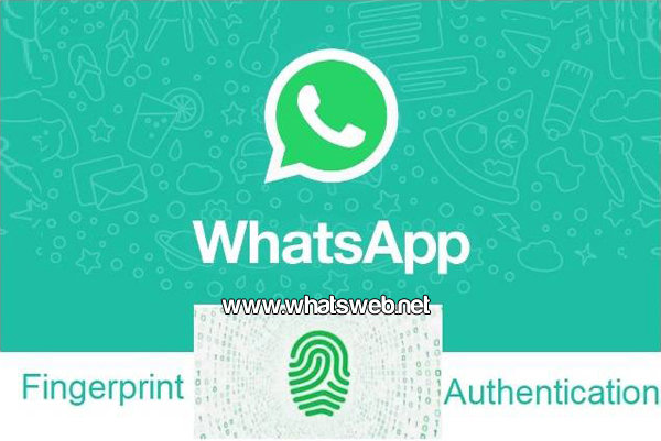 Huella digital en WhatsApp