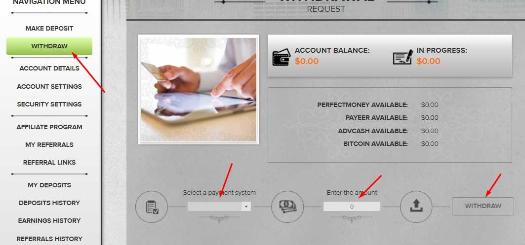 Регистрация в Aurum Bank 3