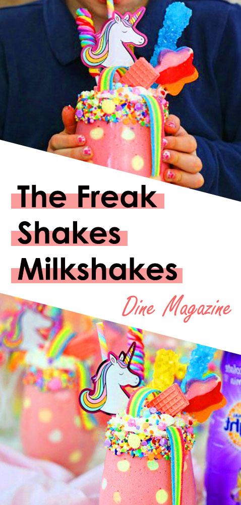 This Freak Shakes Milkshakes are Best Unicorn Milk shakes. Not like Milkshakes Sonic, but this Amazing! Not like Milkshake Mcdonalds too, but Extreme delicious. Good for Milkshake Maker. There is Milkshakes Video too in here. And, this Milkshakes With Ice Cream. #milkshakes #milkshakessonic #milkshakesmcdonalds #freakshakes