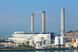 electric power generating plant where CEMS are used