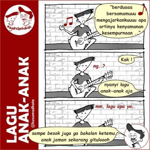 10 Komik Lucu Indonesia | Komik Lucu berwarna | Komik tentang pelajaran