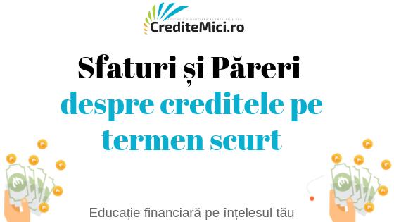 Credit pe termen scurt