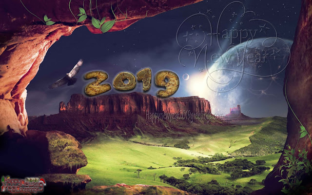 2019 New Year Full HD Wishes Pics - New Year Full HD Nature Pics 2019 Download