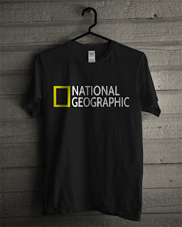 "BAJU KAOS ""NATIONAL GEOGRAPHIC"""