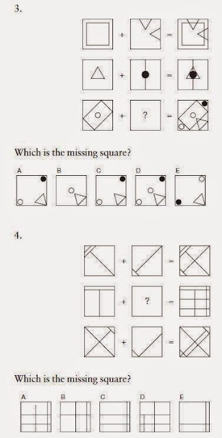 Iq test λογικής - δοκιμασίας ευφυΐας 3-4