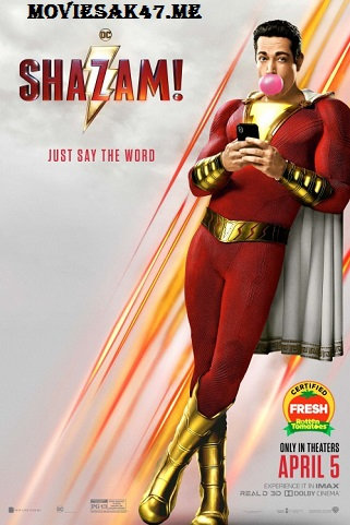 Shazam (2019) Full English Movie Download 480p 720p 1080p HD-CAM Watch Online Free