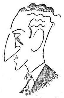 Caricatura de José Mandil Pujadó
