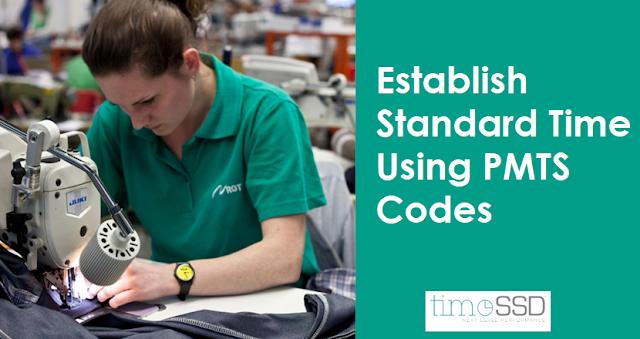Establish standard time using PMTS codes
