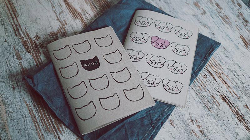 KuneCoco • DIY • selbstgemachte Notizbücher