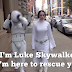 Starwars Episode Walk 1 - Princess Leia walked around New York for 10 hours