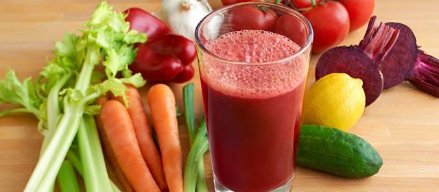 jus sayur menurunkan berat badan