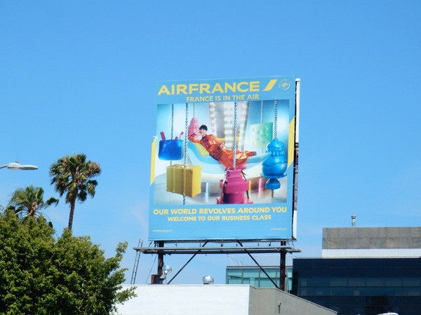 Air France 2016 carousel billboard