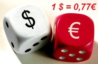 Equivalencia Entre El Euro Y Dólar