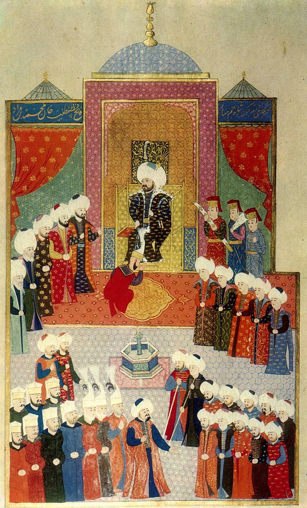 Accession of Mehmed II in Edirne 1451