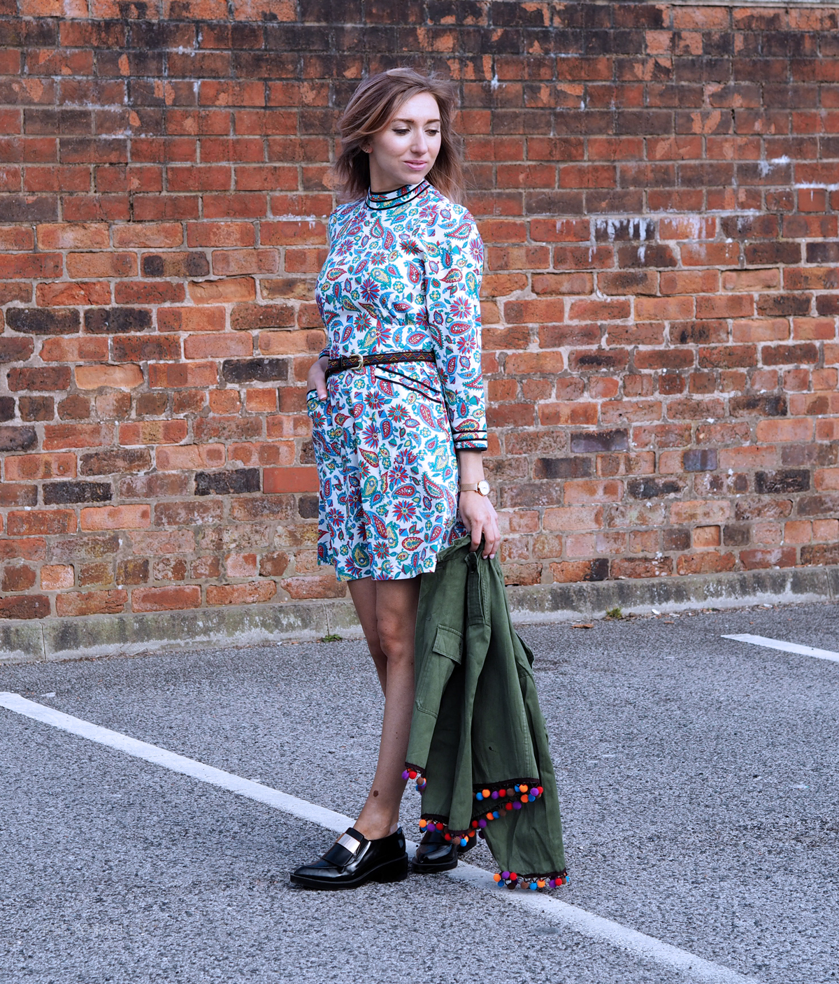 The Eliza Dress from the Alexa Chung Collection on the Rock On Holly Blog