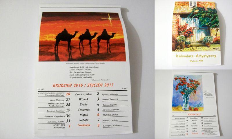 Kalendarz Artystyczny 2017