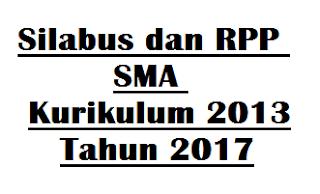 Downloa Silabus dan RPP SMA Kurikulum 2013 Tahun 2017