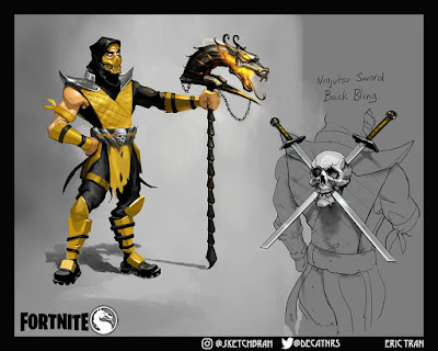 Fortnite Scorpion Mortal Kombat
