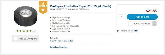 Gaffer Tape & Duct Tape
