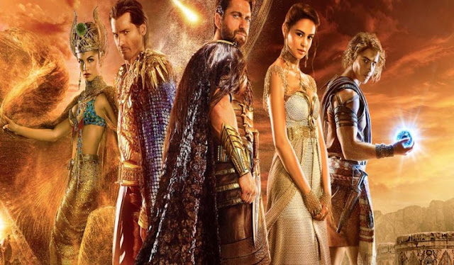 Deuses do Egito filme