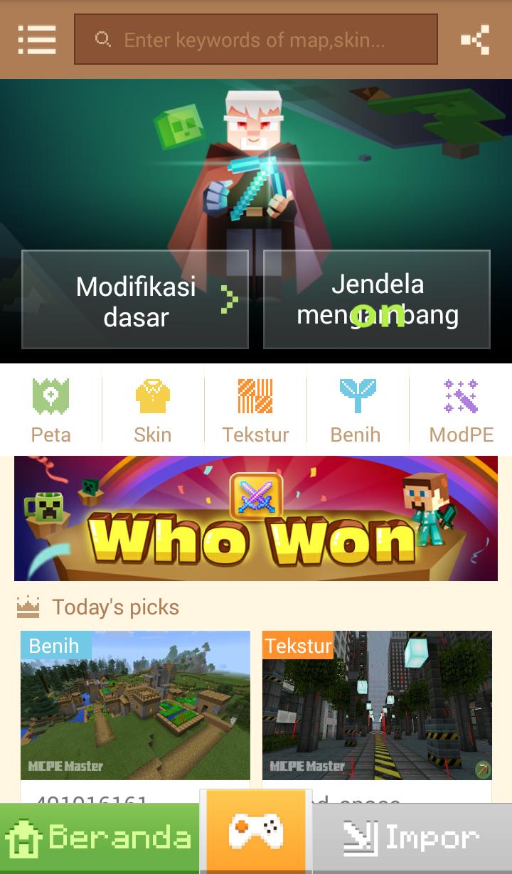 Aplikasi Serbaguna Untuk Minecraft PE