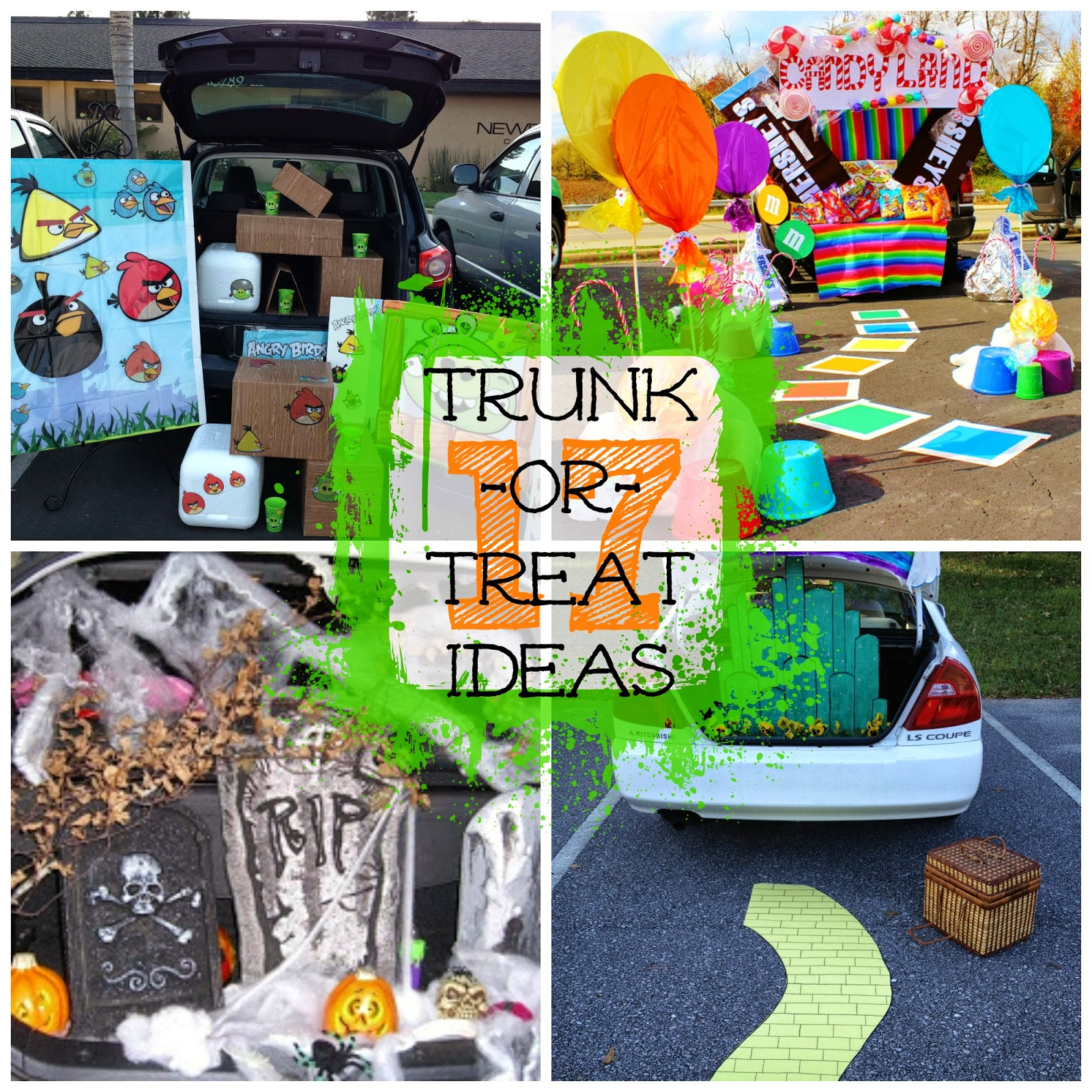 17 Creative Trunk Or Treat Ideas I Dig Pinterest