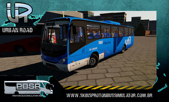 Skin Proton Bus Simulator Road - Ideale 770 OF-1721 BT5 Viação Util