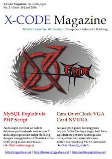 Ebook Majalah Hacking (X-Code Magazine) Bahasa Indonesia