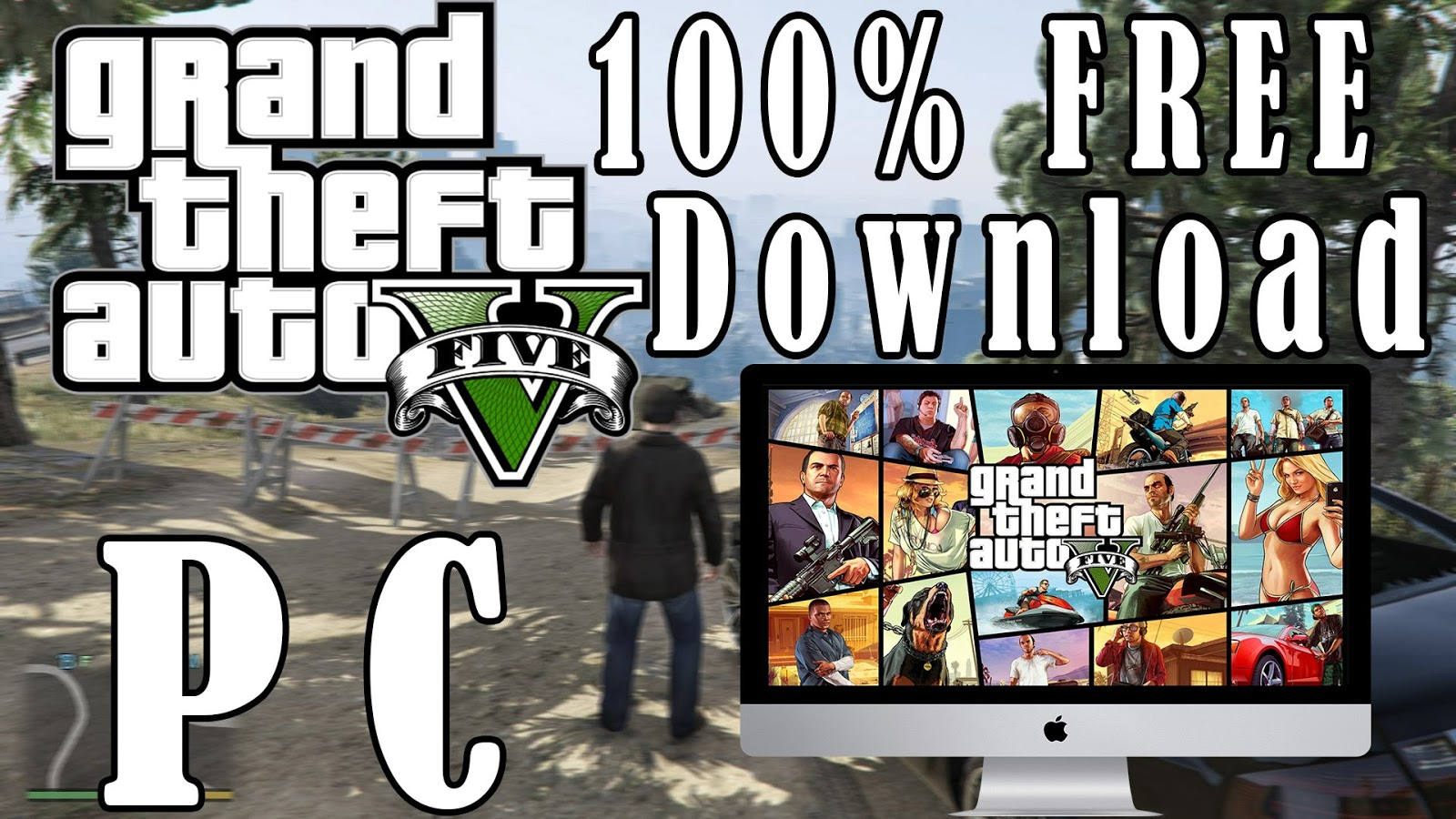 grand theft auto v official gameplay download for pc free
