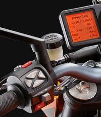 KTM 1290 Super Duke R ABS: Ordenador