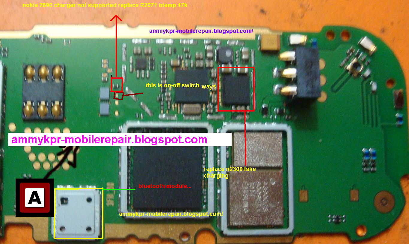 nokia 2690 charger not supported ,fake charging,on-off switch ways,solution