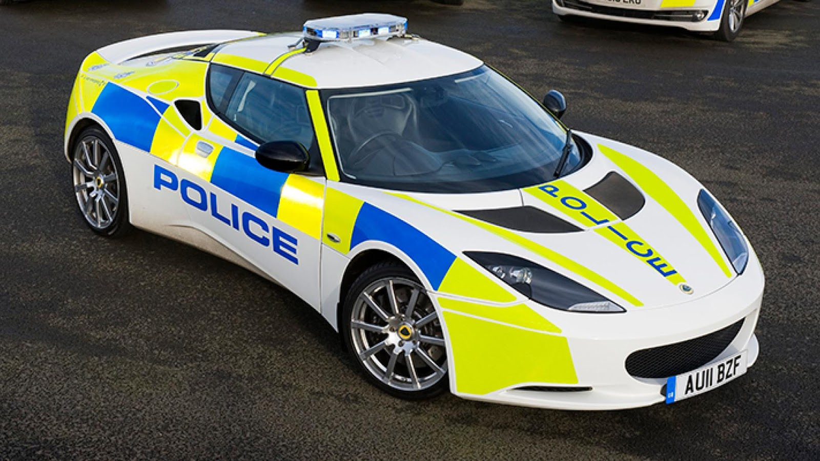 UK Police Lotus Evora S