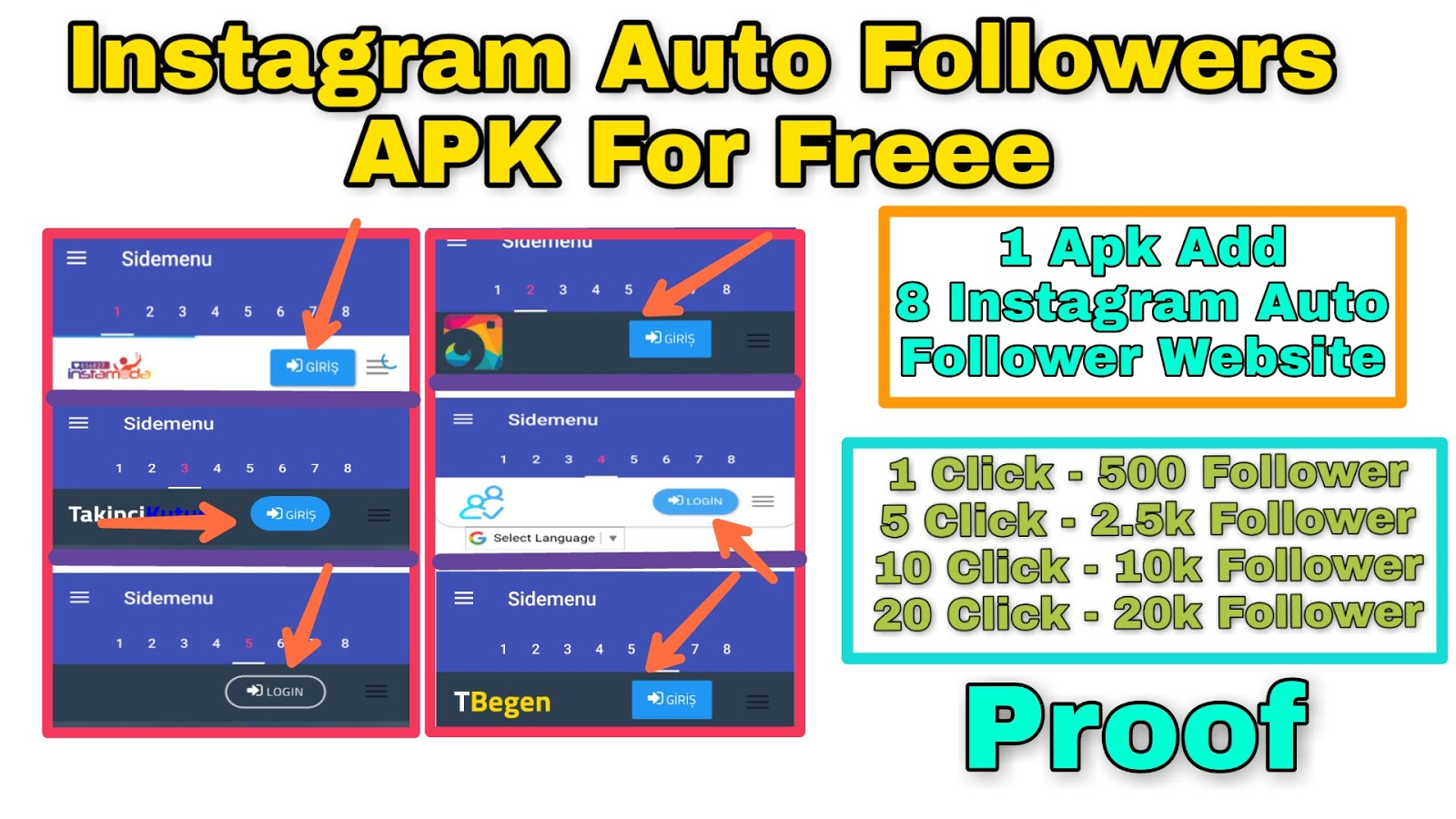 Best Free Instagram Followers Apk | Famoid Bot For Instagram