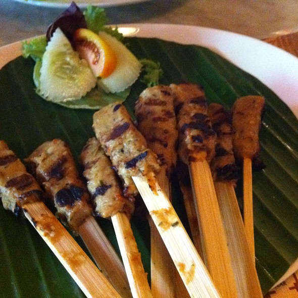fish ikan, wrapped on ice cream stick