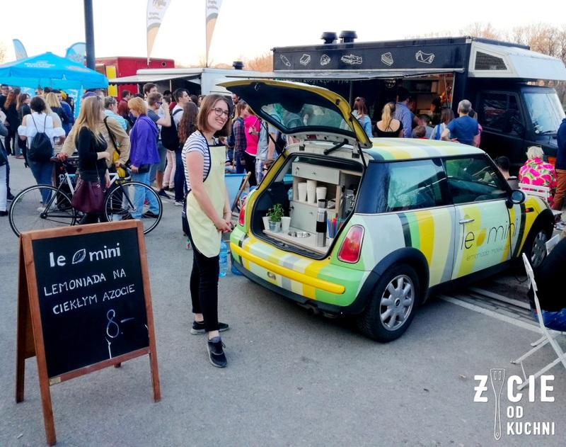 le mini, lemoniada, food truck, street food, zycie od kuchnni