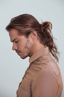 Long Hair Man Bun