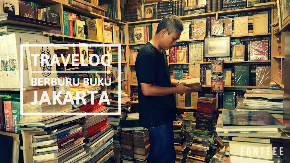 Travelog Berburu Buku Jakarta