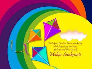 Makar Sankranti 2018 HD Wallpaper Download