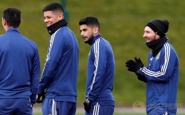 Melihat Latihan Messi Bersama Timnas Argentina Jelang Laga Persahabatan Kontra Italia