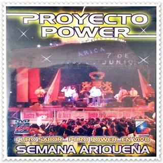 proyecto power en vivo arica