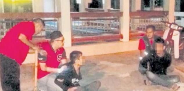 Leka 'Pancing' Duit Masjid, Dua Beradik Dicekup